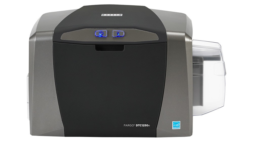 HID Fargo DTC1250e Card Printer